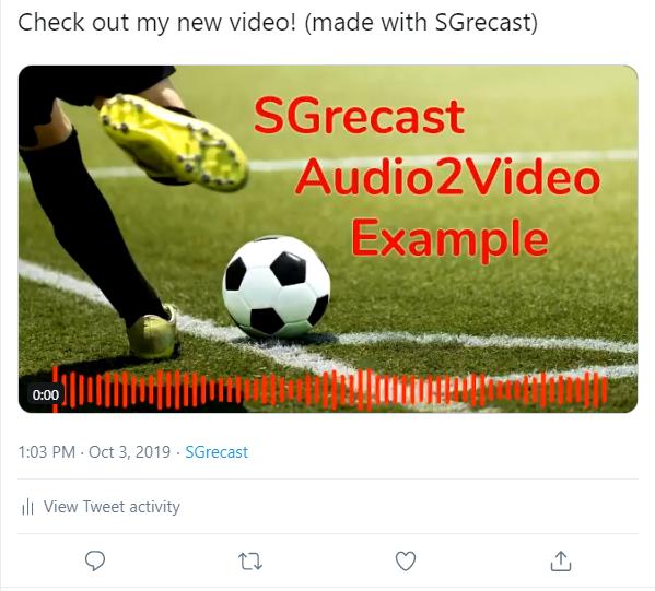 Audio2Video Image