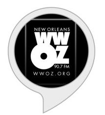 WWOZ Skill by StreamGuys on the Amazon Alexa Skill Store